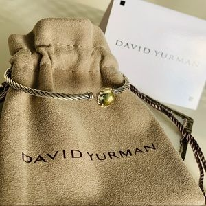 David Yurman Chatelaine Bracelet Lemon Citrine 3mm